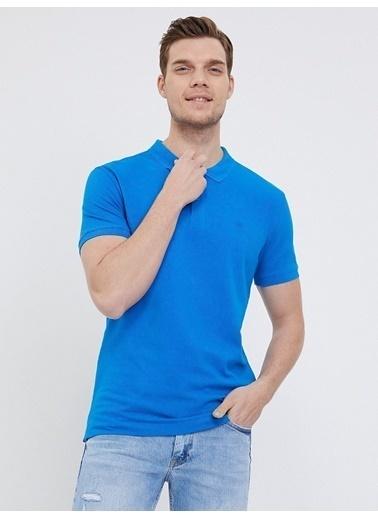 Loft Loft 021171 Mavi Erkek Polo T-Shirt Mavi